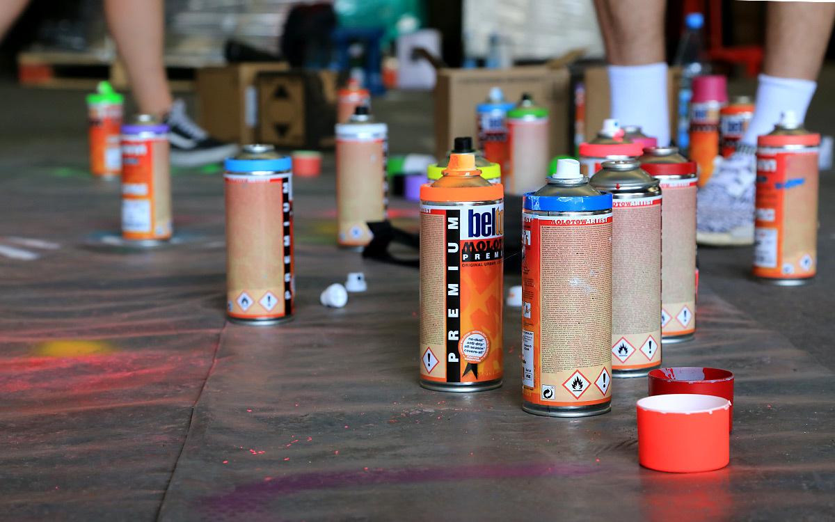 Holtmann auszubildende graffiti aktion 06