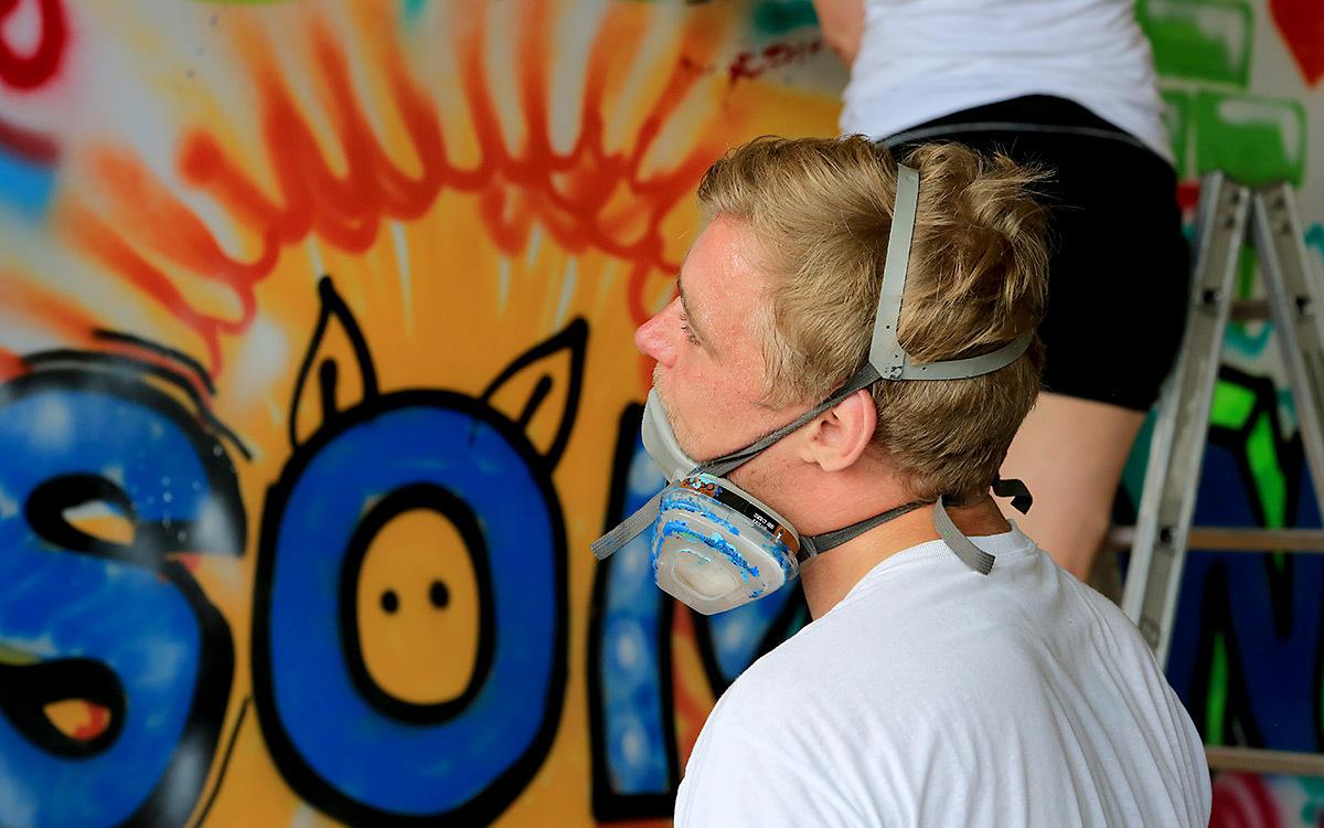 Holtmann auszubildende graffiti aktion 10