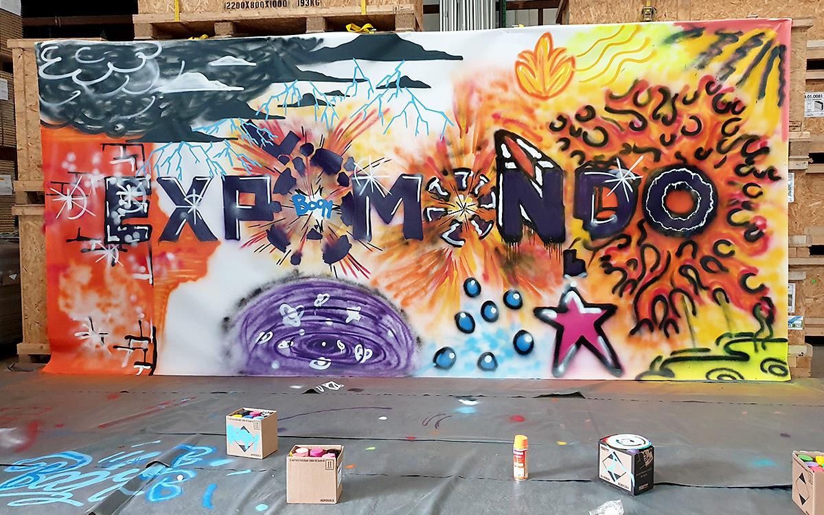 Holtmann auszubildende graffiti aktion 15