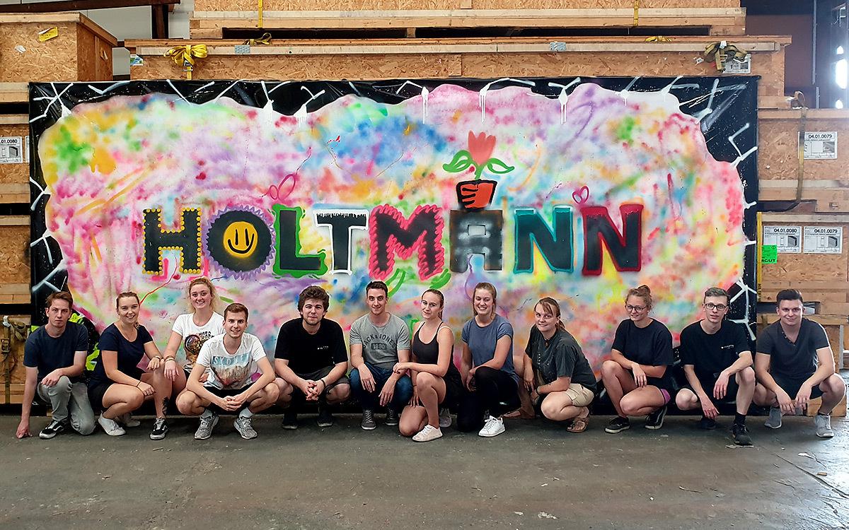 Holtmann auszubildende graffiti aktion 16