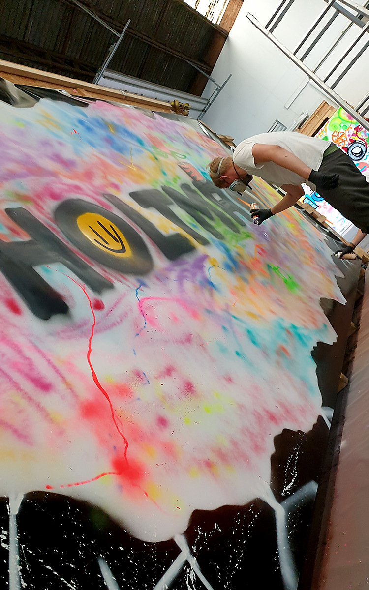 Holtmann auszubildende graffiti aktion 12